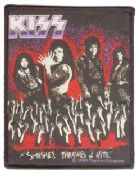 Kiss - 'Smashes, Thrashes & Hits' Woven Patch